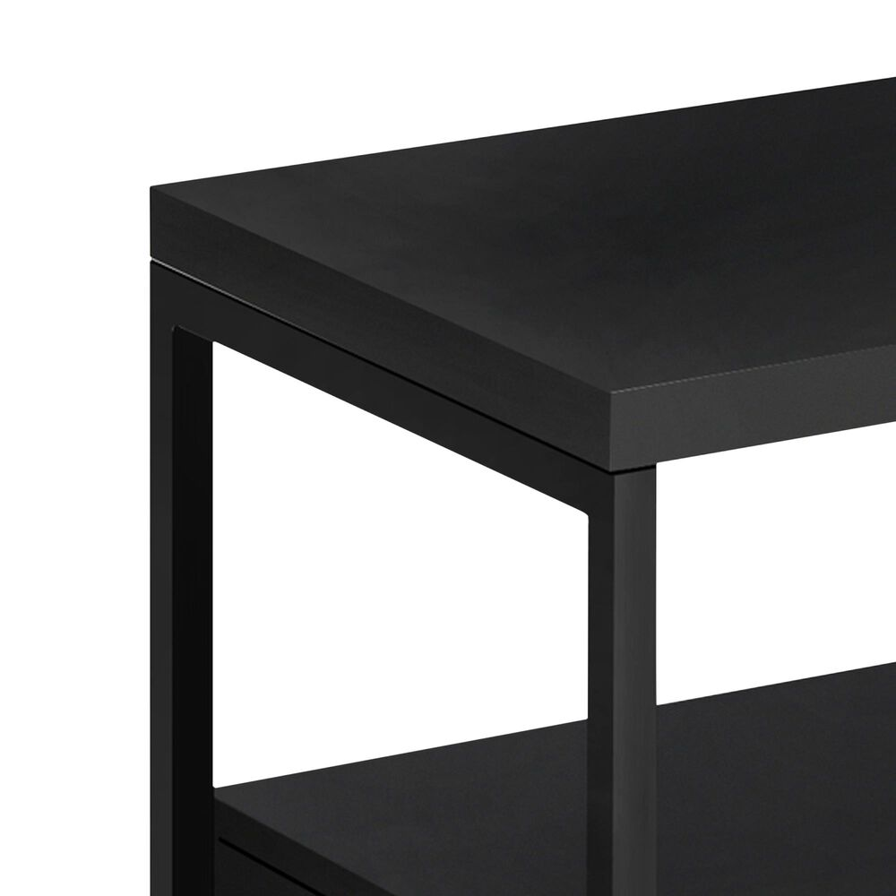 """Monarch Specialties Ht 19.75"""" 48"""" TV Stand in Black , , large"""