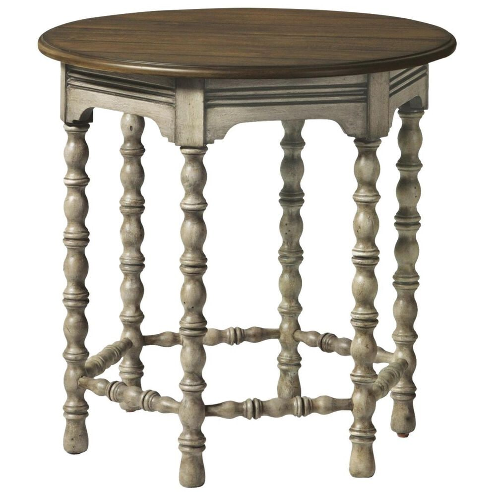 Flexsteel Plymouth Lamp Table in Whitewash, , large