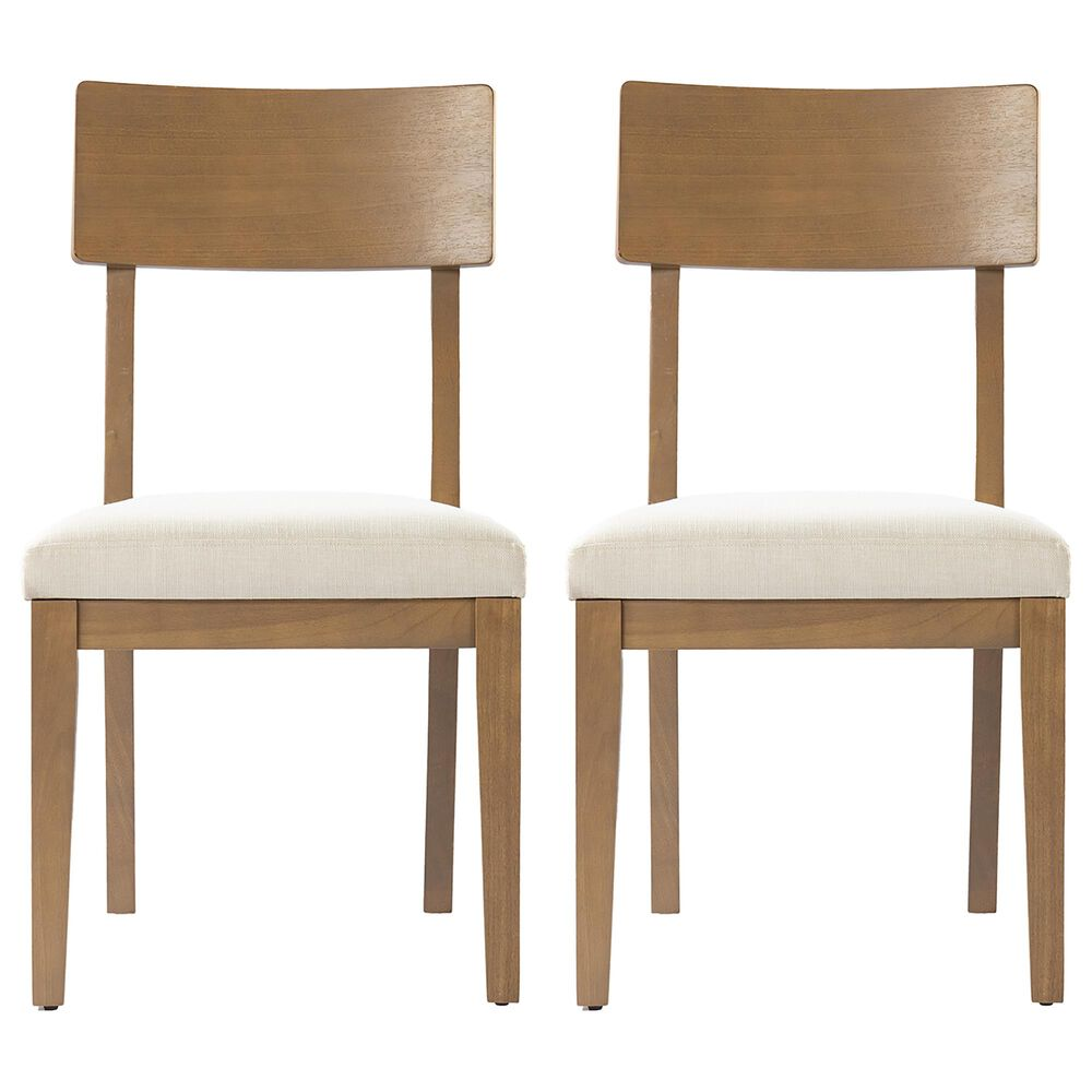 Southern Enterprises Hambleden Dining Chair in Natural (Set of 2), , large