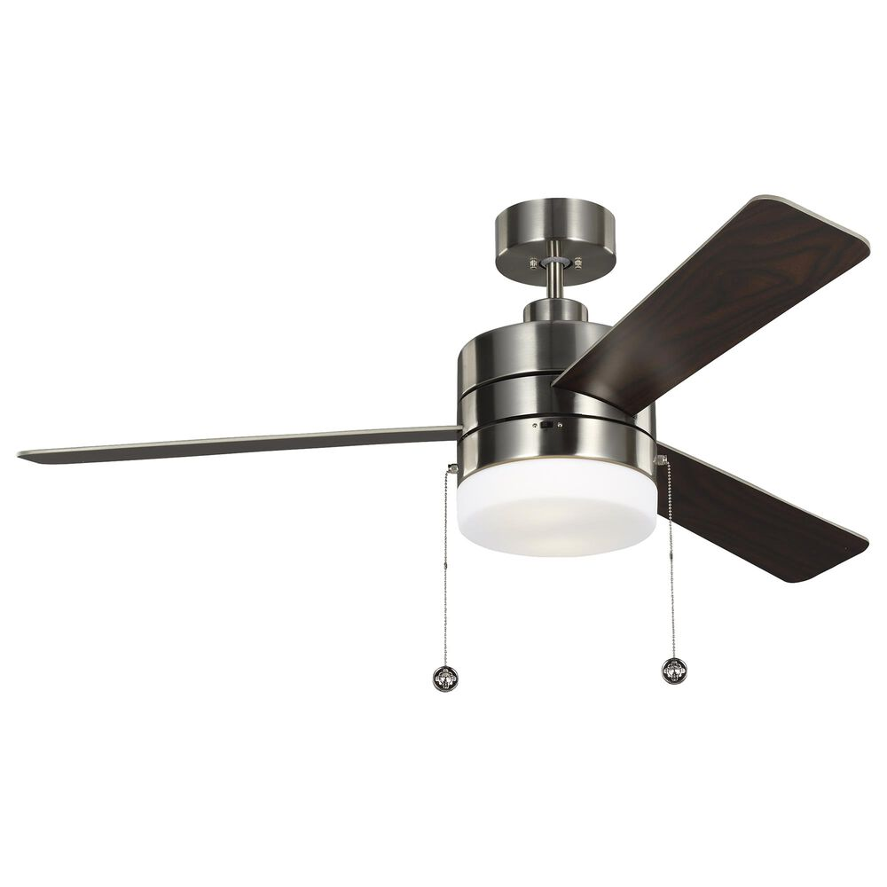 Murray Feiss Syrus Ceiling Fan in Brushed Silver, , large