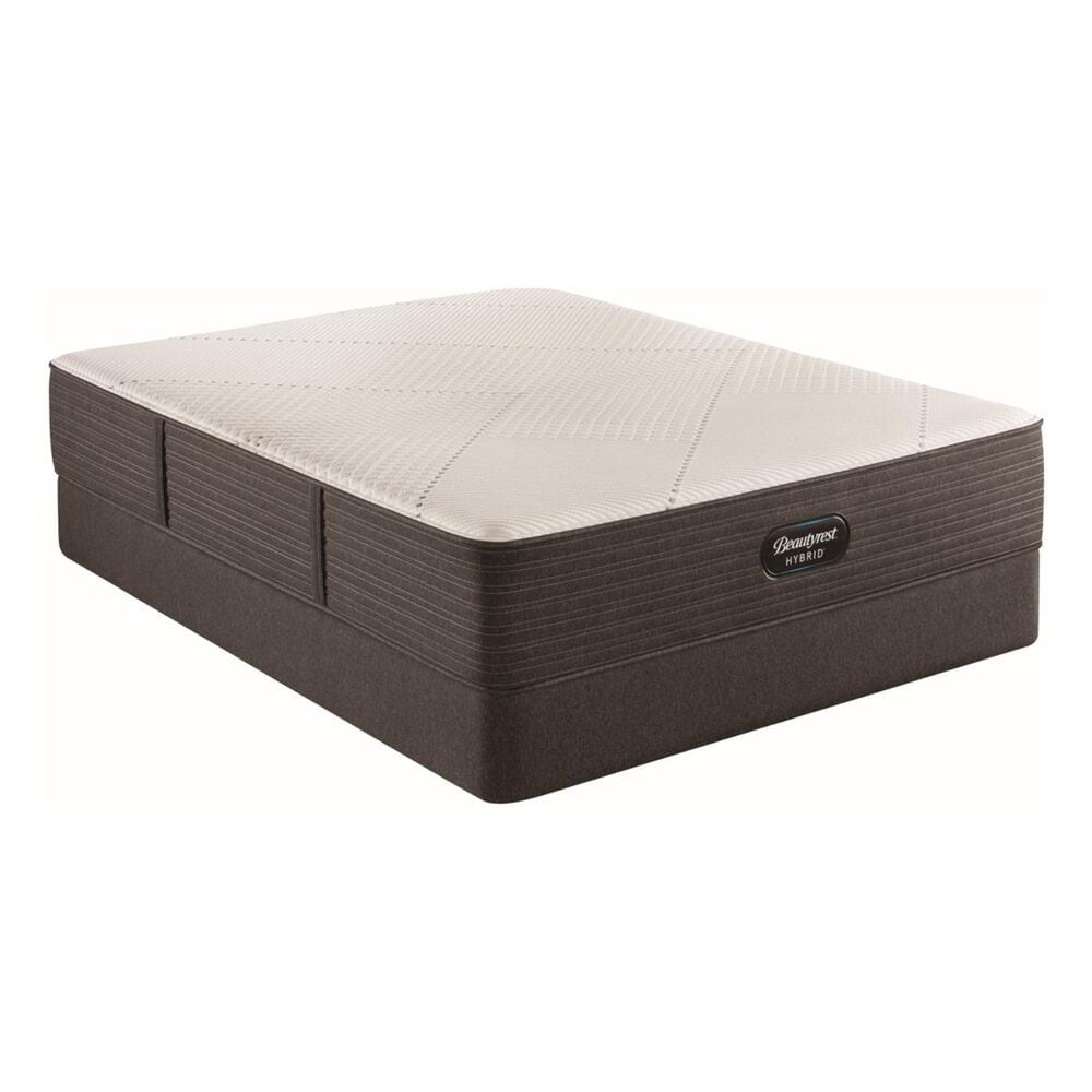 Beautyrest Hybrid1000-IP Plush Queen Mattress with High Profile Box Spring, , large