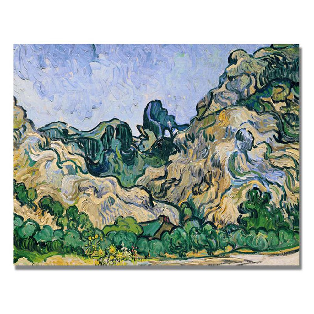 "Timberlake Vincent Van Gogh 18"" x 24""  'The Alpilles, 1889' Canvas Art, , large"