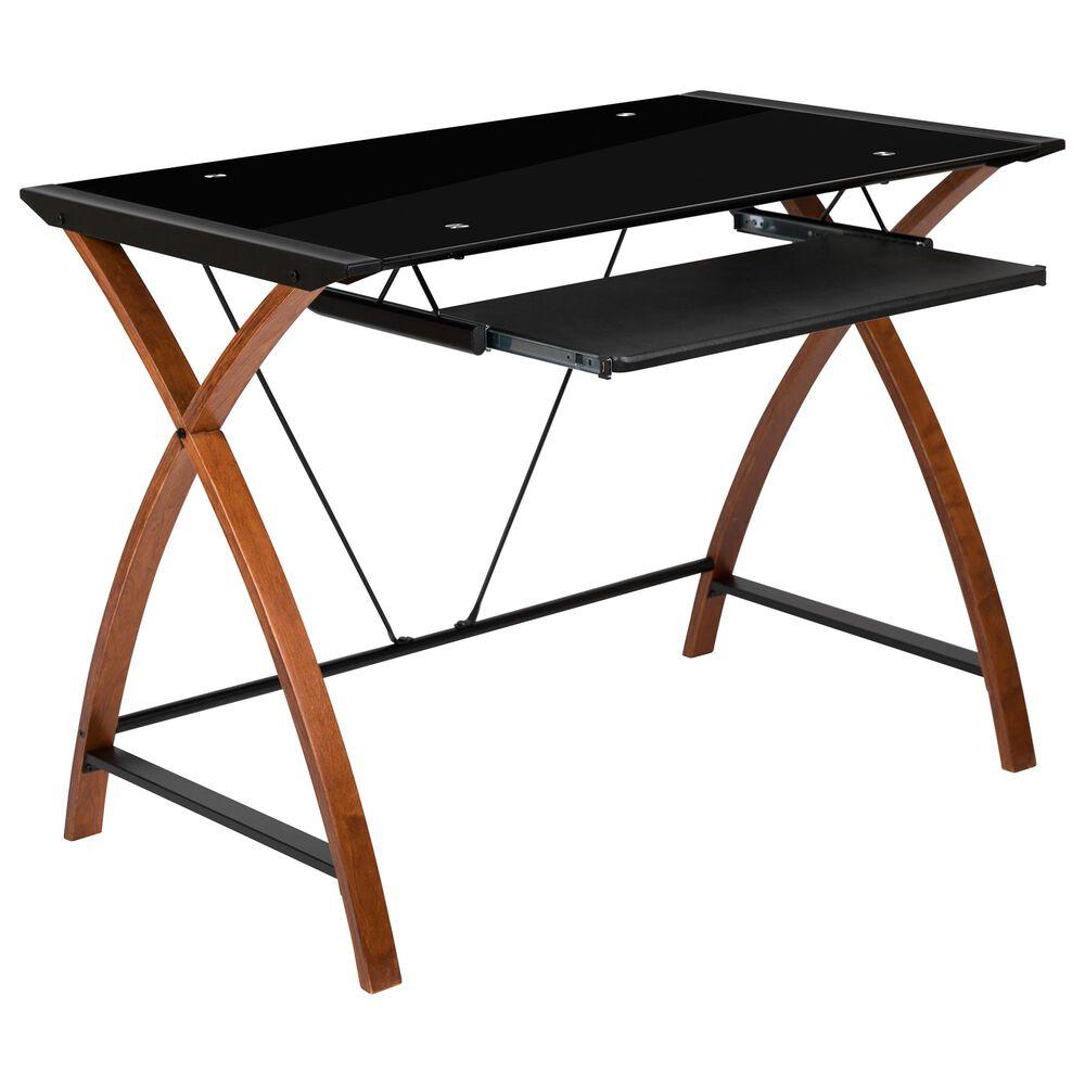 """Flash Furniture 29.7"""" Desk in Black, , large"""