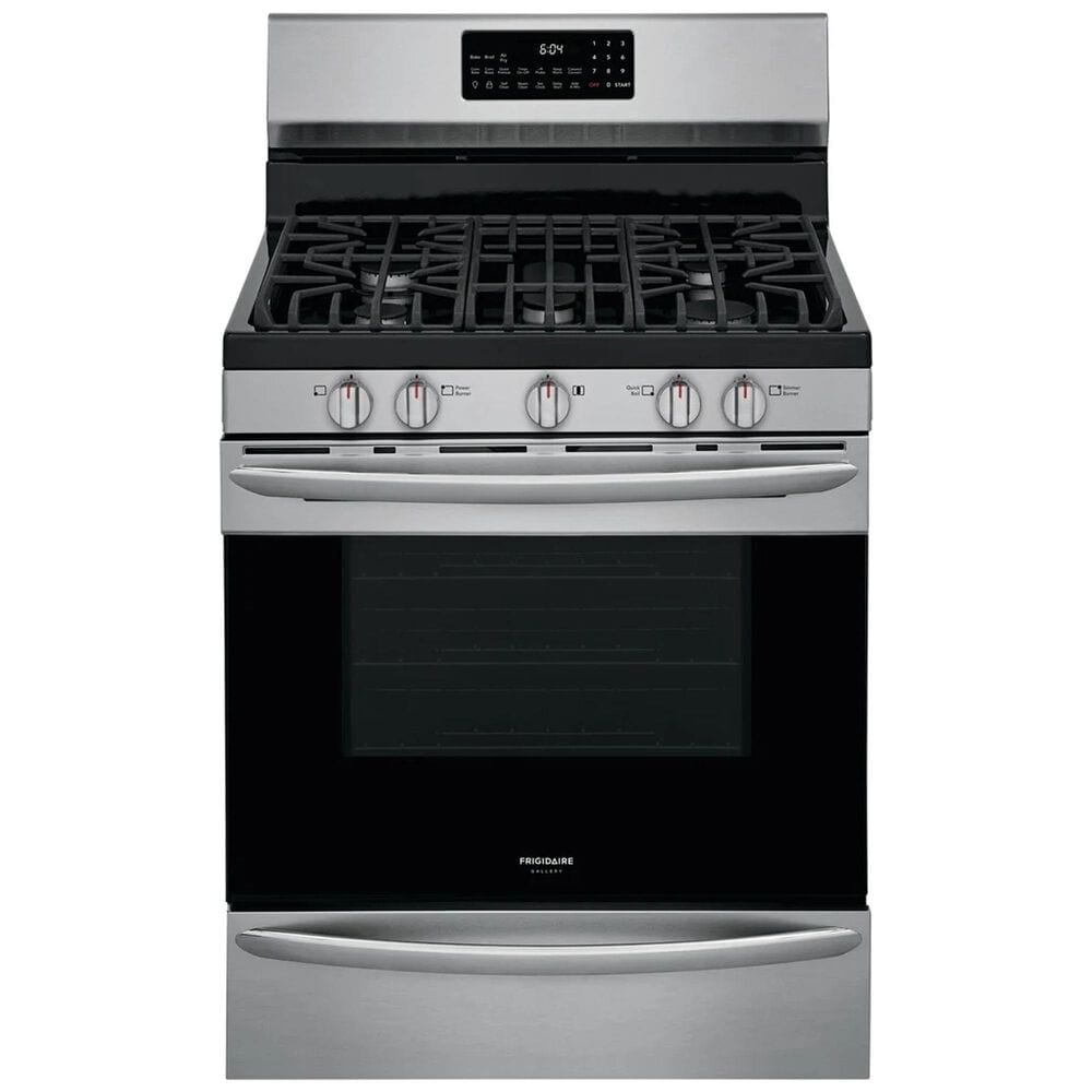 Frigidaire Gallery 30'' Freestanding Gas Range in Stainless Steel, , large