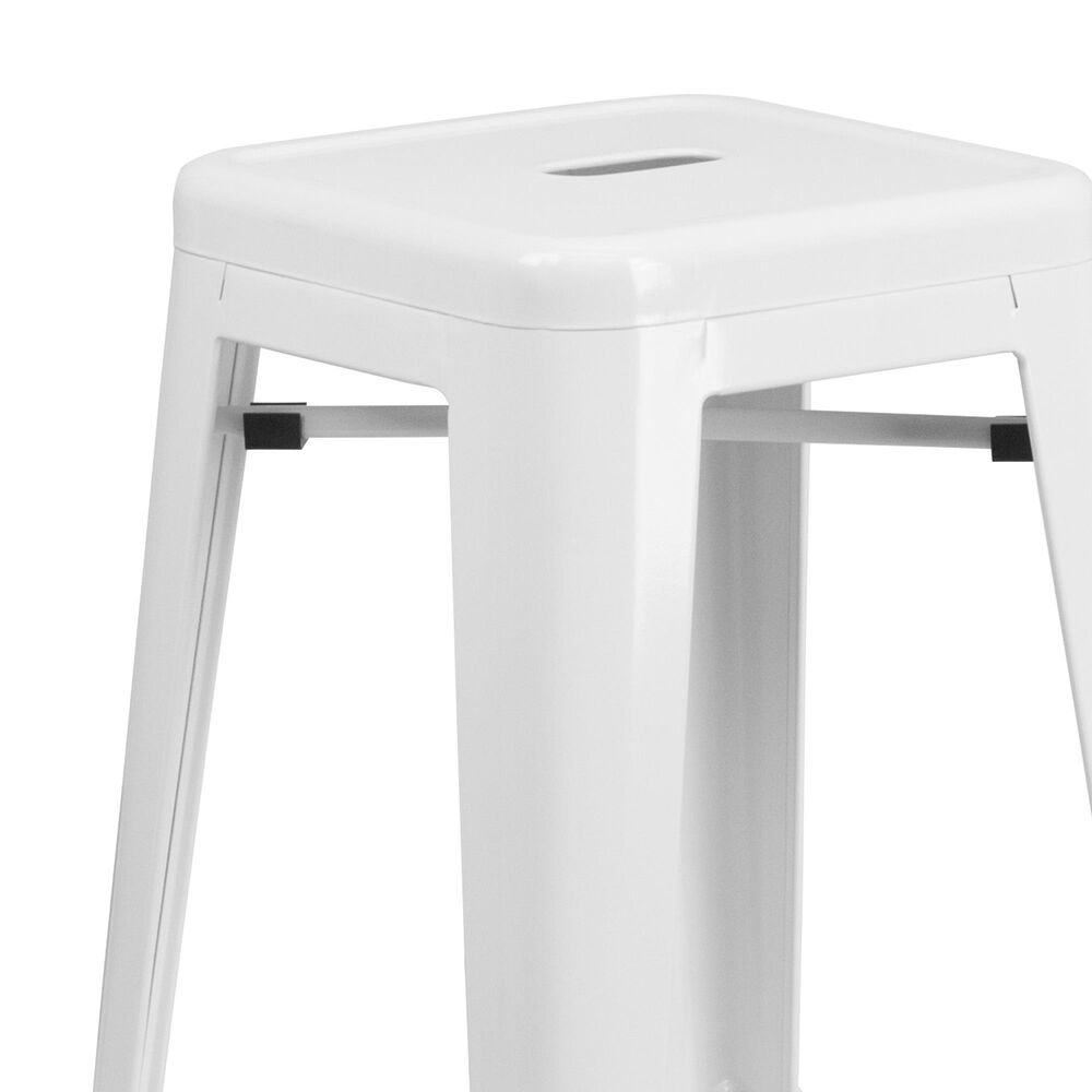 "Flash Furniture 30"" Barstool in White, , large"