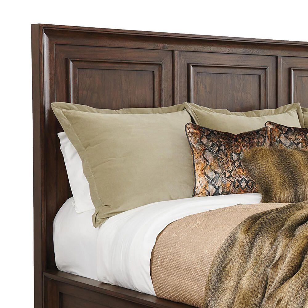 Lexington Furniture Silverado Walnut Creek King Bed in Montecito, , large