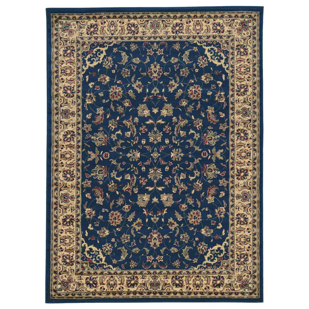 """Radici USA Castello 953 6'7"""" x 9'6"""" Blue Area Rug, , large"""