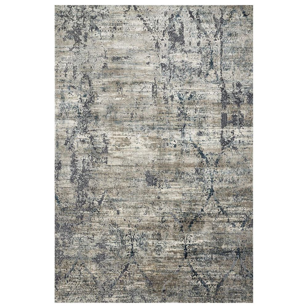 "Loloi Cascade CAS-01 5'3"" x 7'7"" Taupe and Blue Area Rug, , large"