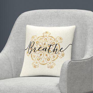 Timberlake Veronique Charron 'Namaste II' 16 x 16 Decorative Throw Pillow, , large