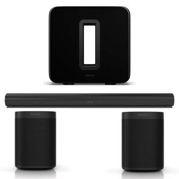 SONOS 5.1.2 Surround Sound Set in Black, , large