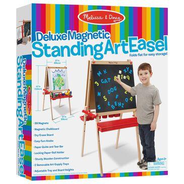 Melissa & Doug Deluxe Magnetic Standing Art Easel, , large