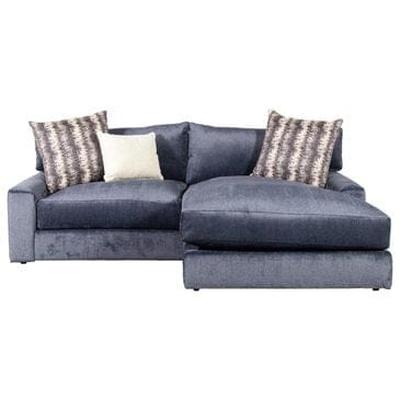 Moda Milo 2-Piece Sectional in Ted Navy, , large