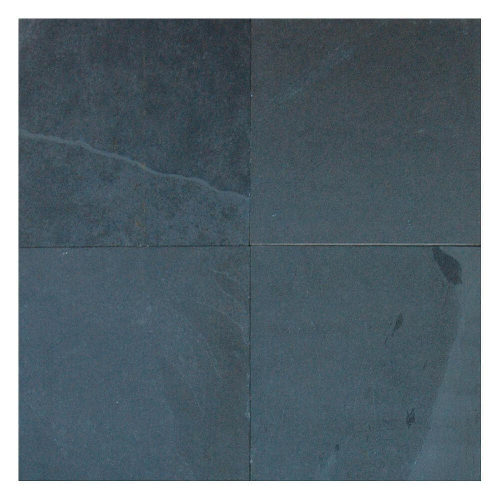 """MS International Montauk Black 12"""" x 12"""" Gauged Natural Stone Tile, , large"""