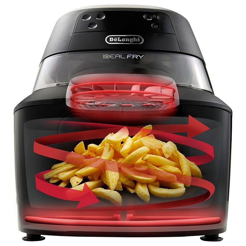 Delonghi 5 Qt. Hot Air Fryer in Black, , large