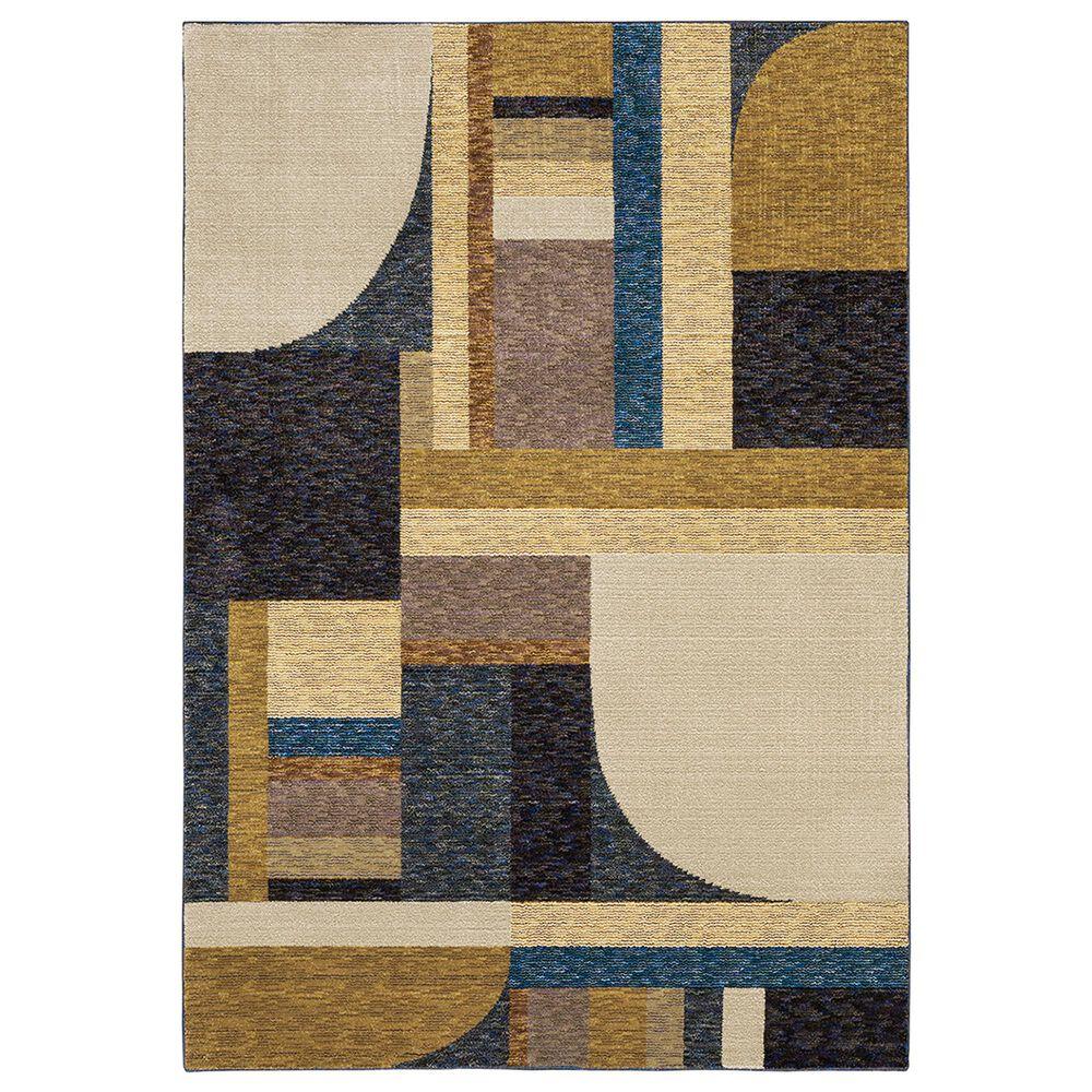 "Oriental Weavers Strada 2'3"" x 8' Gold Runner, , large"