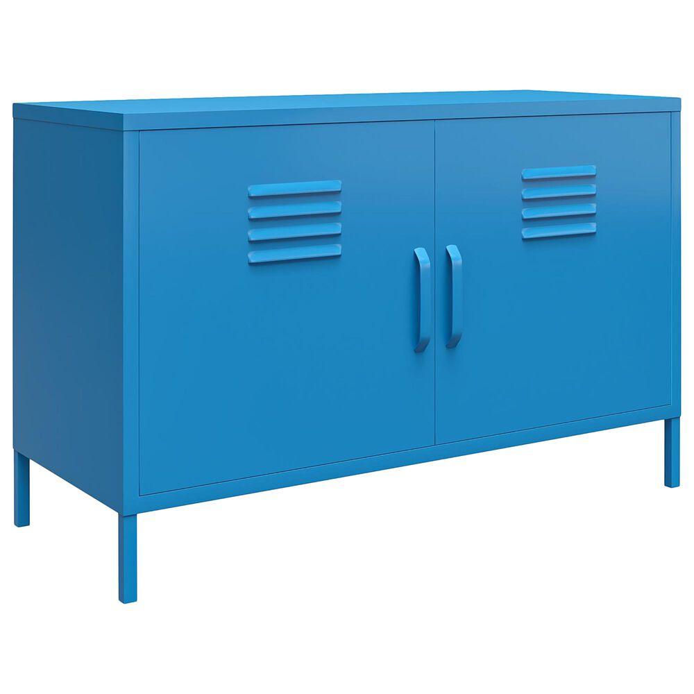 Novogratz Cache 2-Door Accent Cabinet in Blue, , large
