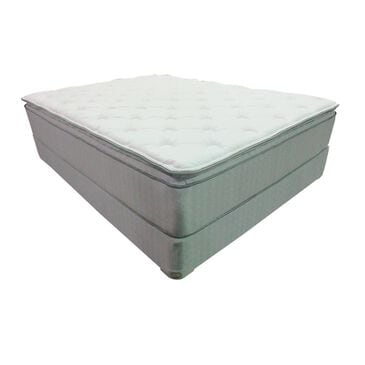 Omaha Bedding Imperial Pillow Top Plush Queen Mattress with High Profile Box Spring, , large