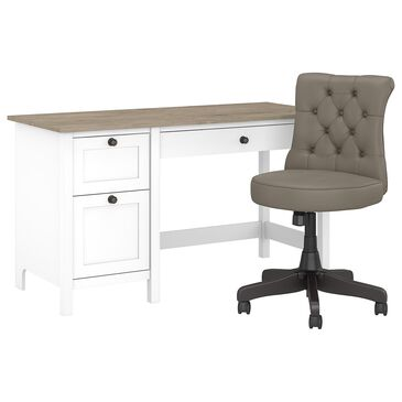 "Bush Mayfield 54"" Desk in Shiplap Gray Color, , large"