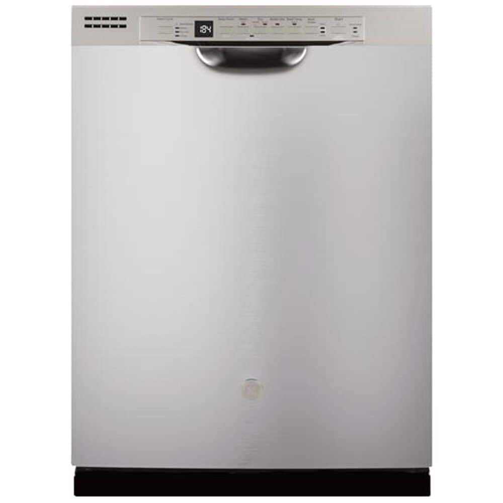 GE Appliances Built-In Dishwasher with Front Controls and 3rd Rack in Stainless Steel , , large