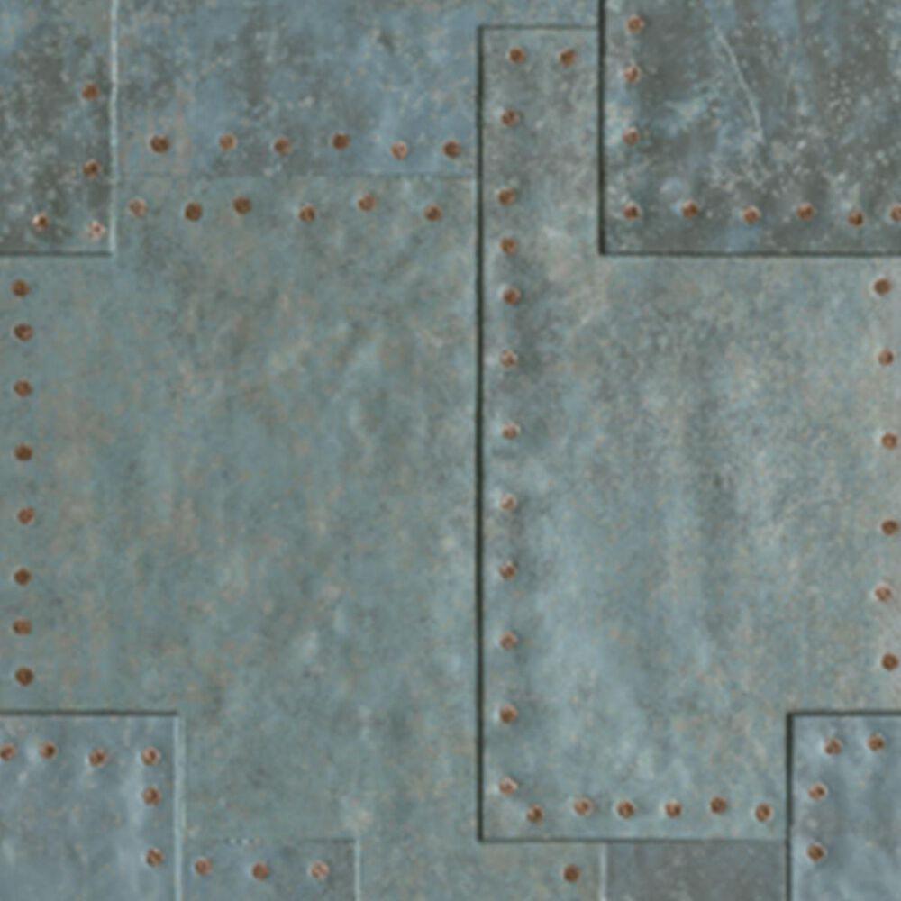 """Soci Grunge Blue Fizz 18"""" x 47"""" Porcelain Tile, , large"""
