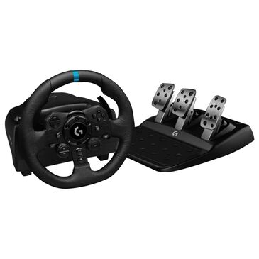 Logitech G923 Racing Wheel and Pedals in Black - Xbox One, , large