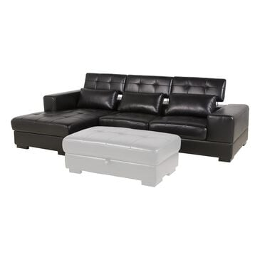 Tuscany Grove 2-Piece Sectional in Tanner Black, , large