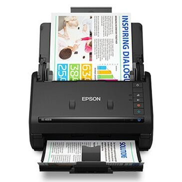 Epson WorkForce ES-400 II Duplex Desktop Document Scanner in Black, , large
