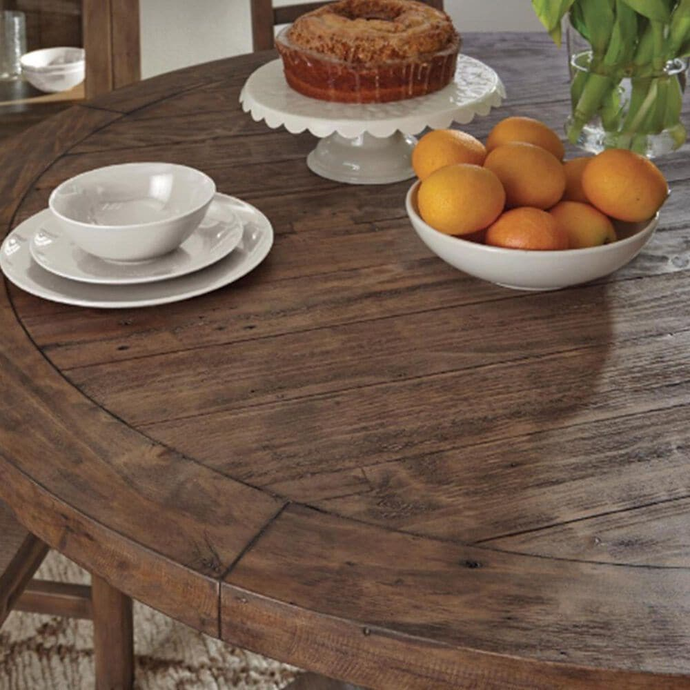 """Greenbrier Interiors Caleb 55"""" Round Dining Table in Desert - Table Only, , large"""