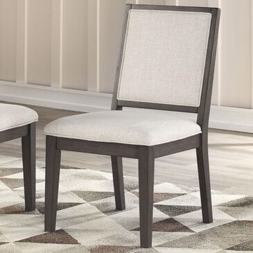 Steve Silver Mila Side Chair in Washed Grey, , large