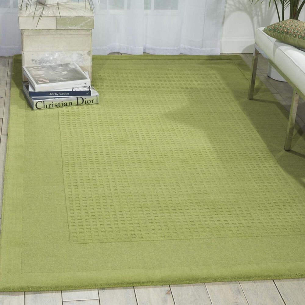 Nourison Westport WP30 5' x 8' Lime Area Rug , , large
