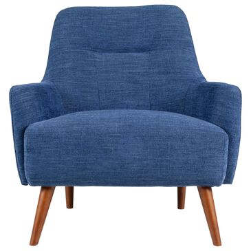 Urban Chic Accent Chair in Midnight Blue, , large