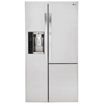 LG 26 Cu. Ft. Side-By-Side Refrigerator w/ Door-in-Door, , large