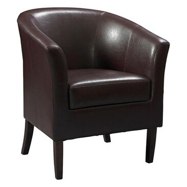 Linden Boulevard Simon Club Chair in Blackberry, , large