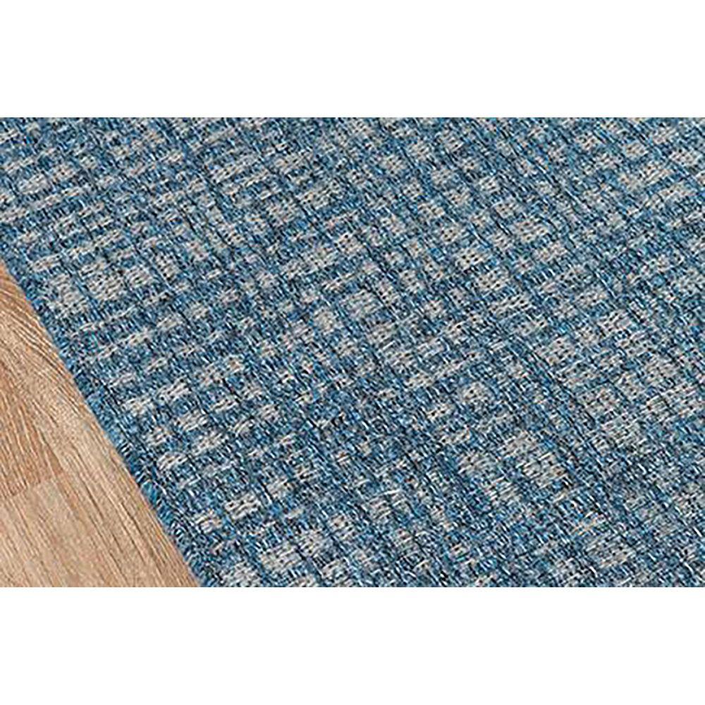 Momeni Como 2' x 10' Blue Indoor/Outdoor Runner, , large