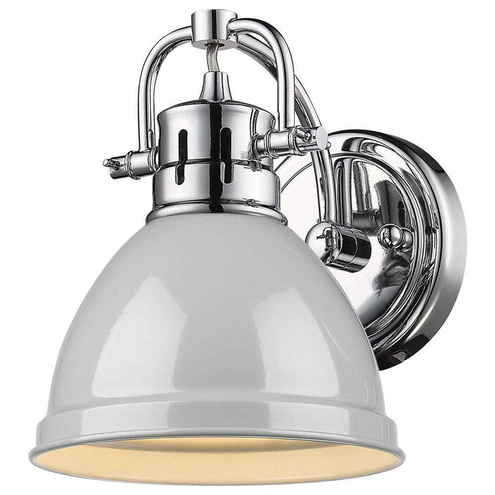 Golden Lighting Duncan 1-Light Bath Vanity in Chrome, , large
