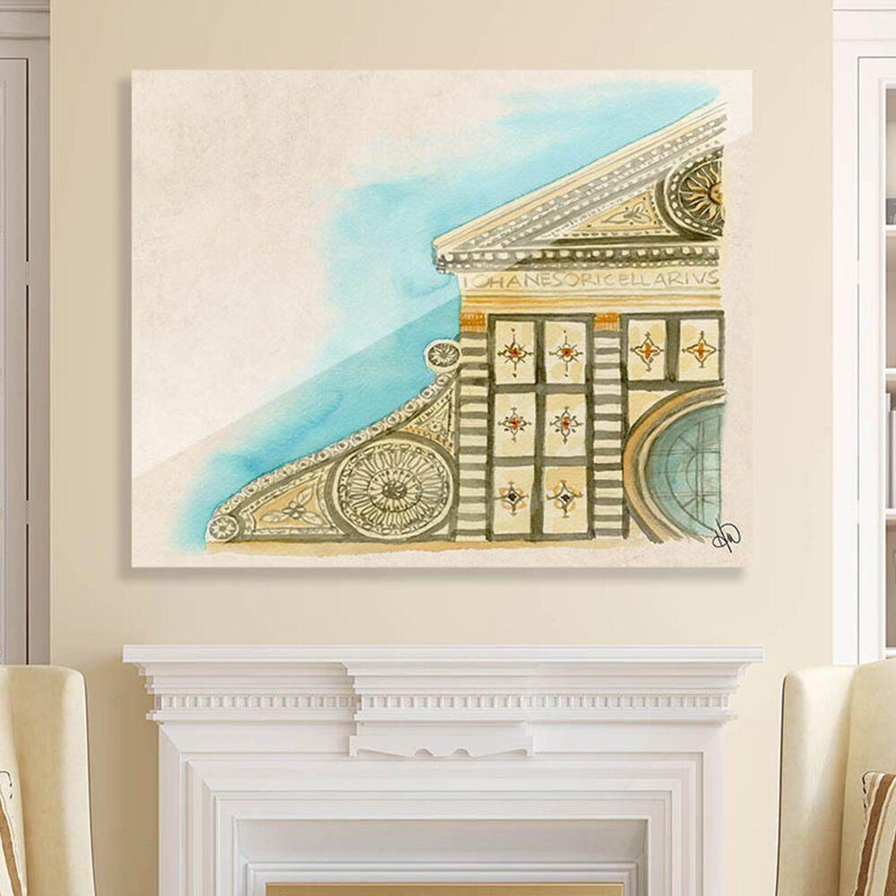 "Kathy Ireland Home ""Santa Maria Novella"" 24"" x 36"" Acrylic Wall Art Print, , large"