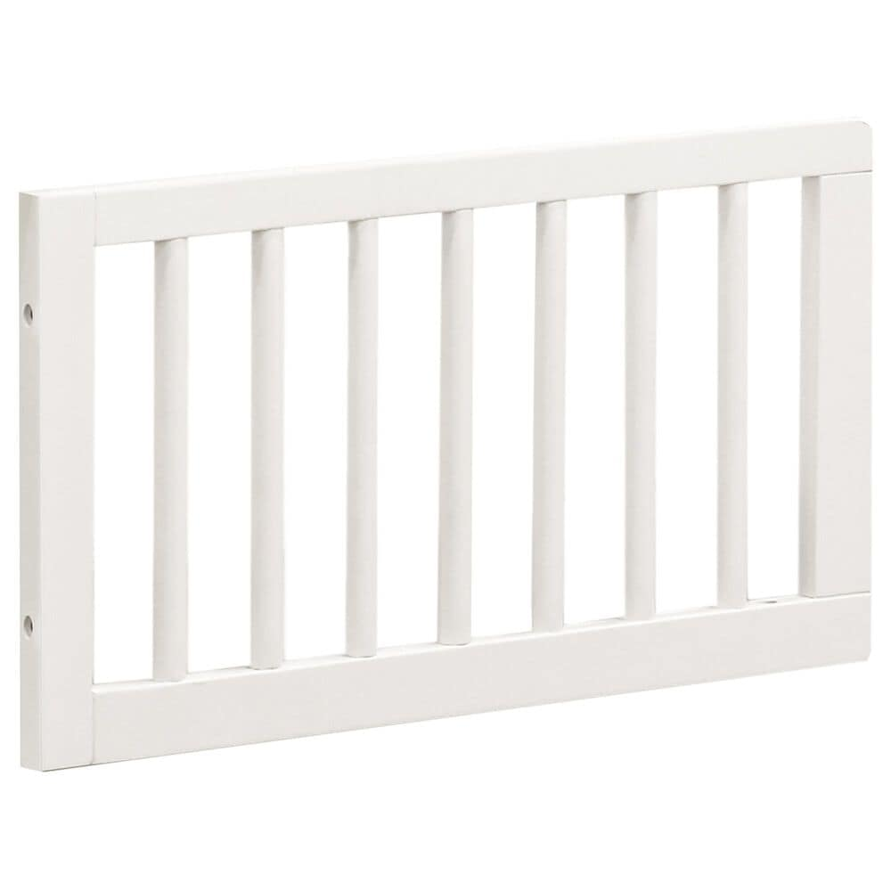New Haus Mirabelle Toddler Bed Conversion Kit in Warm White, , large