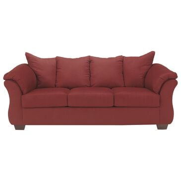 Signature Design by Ashley Darcy Stationary Full Sofa Sleeper in Salsa, , large