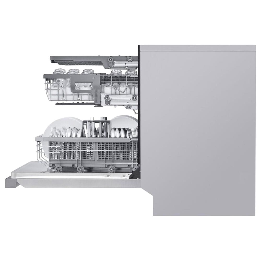 LG 2-Piece Kitchen Package with 26.2 Cu. Ft. French Door Refrigerator in Stainless Steel, , large