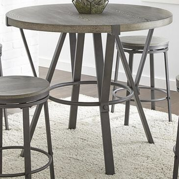 Crystal City Portland Counter Table in Gray - Table Only, , large