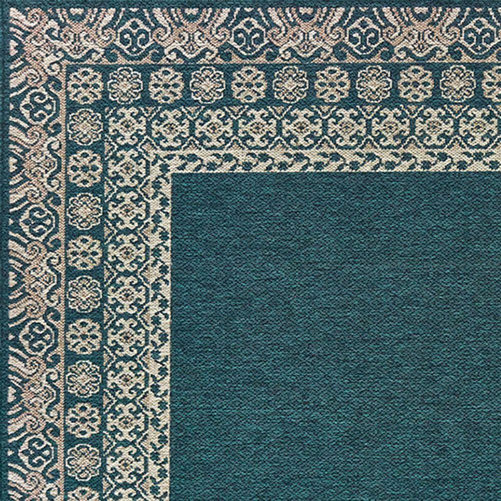 "Oriental Weavers Latitude 1503B 9'10"" x 12'10"" Blue Area Rug, , large"