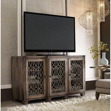 """Hooker Furniture 64"""" Entertainment Console in Walnut, , large"""
