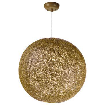 "Maxim Lighting Bali 19"" 1-Light Outdoor Pendant in Natural, , large"