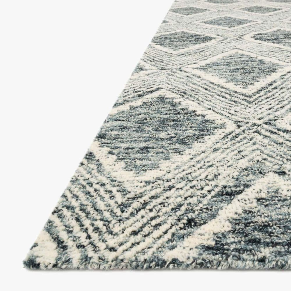 """ED Ellen DeGeneres Crafted by Loloi Kopa 7'9"""" x 9'9"""" Ink and Ivory Area Rug, , large"""