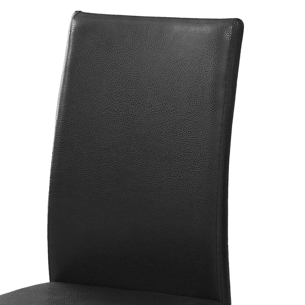 Monarch Specialties Dining Chair in Black - Set of 2, , large