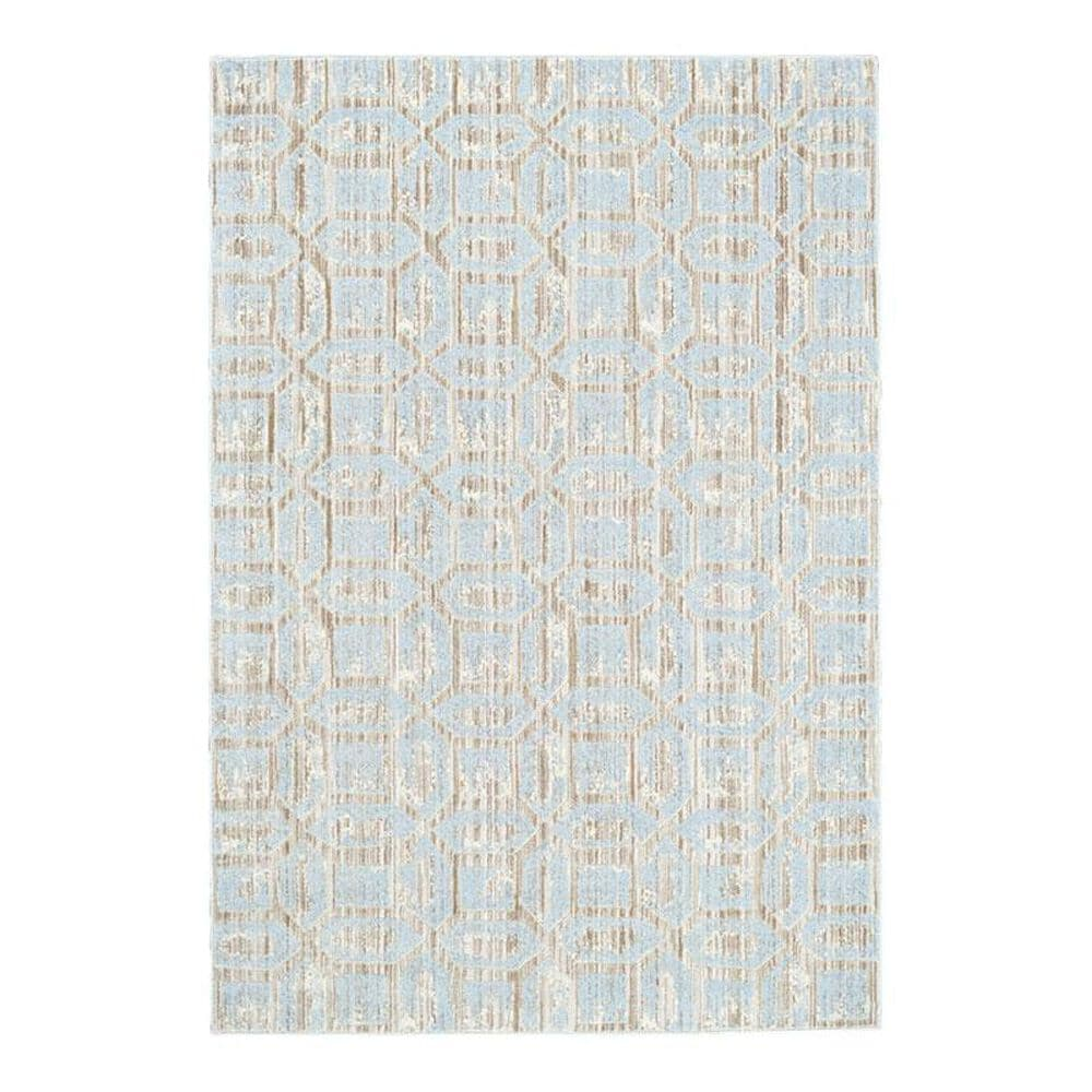 """Feizy Rugs Milton 3472F 2'2"""" x 4' Ice Area Rug, , large"""