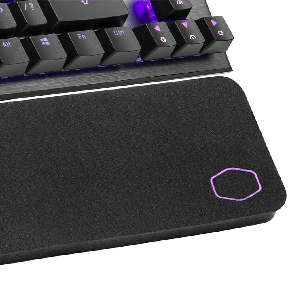 Cooler Master CK530 V2 Tenkeyless Gaming Mechanical Keyboard Brown Switch with RGB Backlighting, On-The-Fly Controls, and Aluminum Top Plate, , large