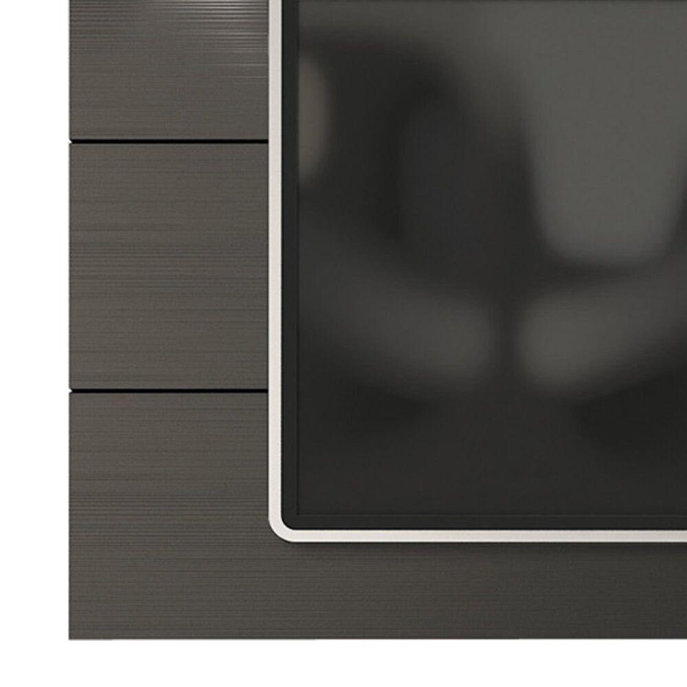 Dayton Cabrini 1.8 Floating Wall TV Panel in Black Matte, , large