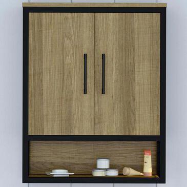 DHP Lone Oak Wall Cabinet in Golden Oak, , large