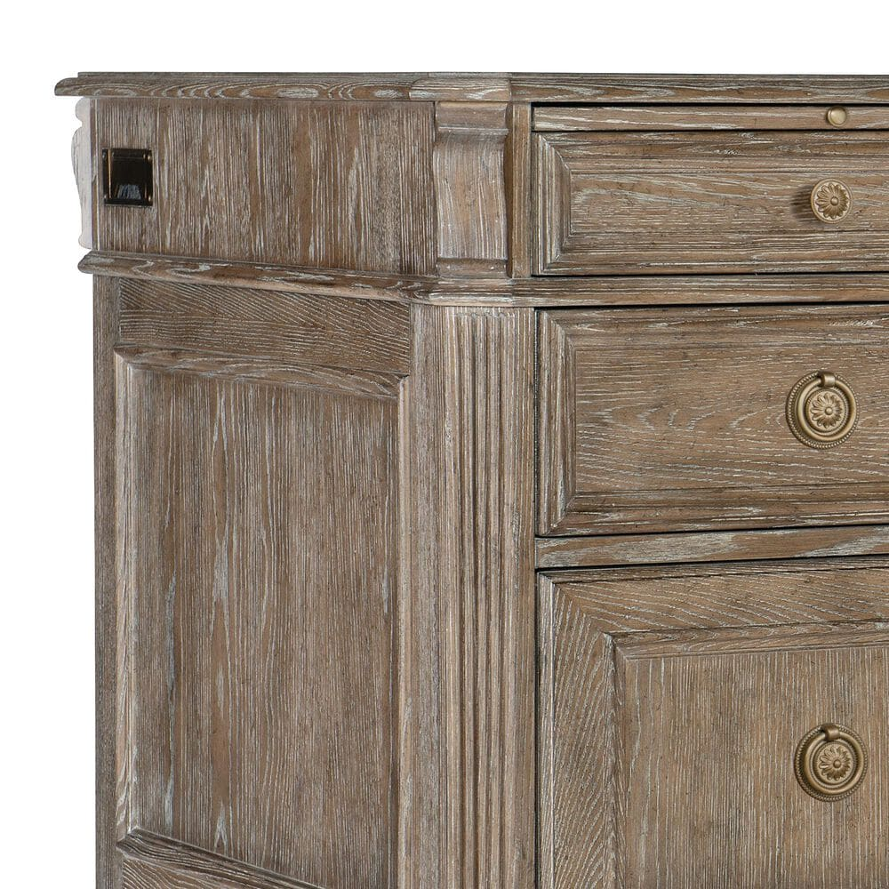 """Hooker Furniture Home Office Sutter 72"""" Executive Desk in Claro, , large"""